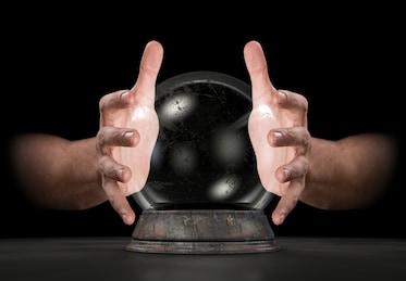 psychic crystal ball paranormal